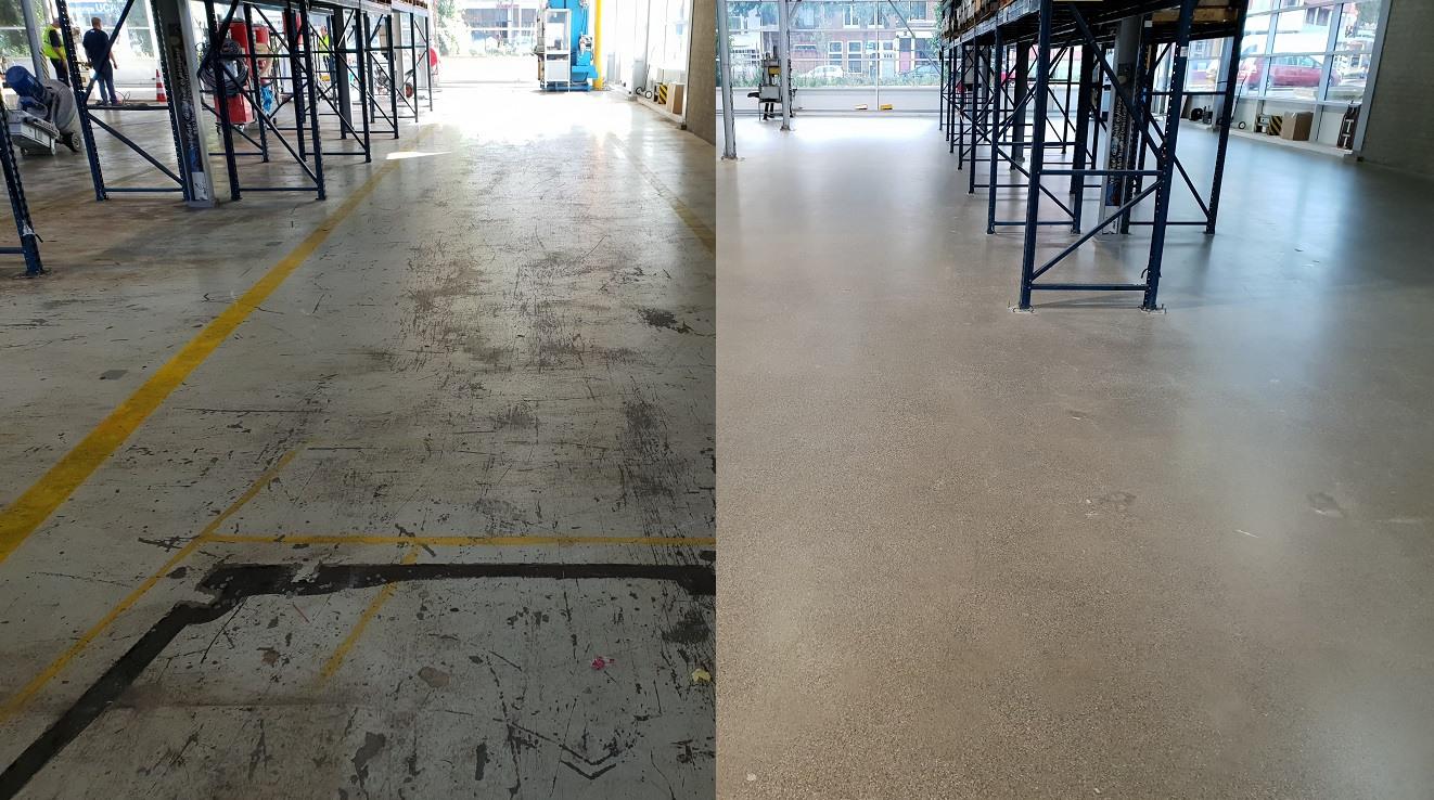 #polijsten #diamantschuren # epoxyvloerverwijderen #betonimpregneren #betonrapareren