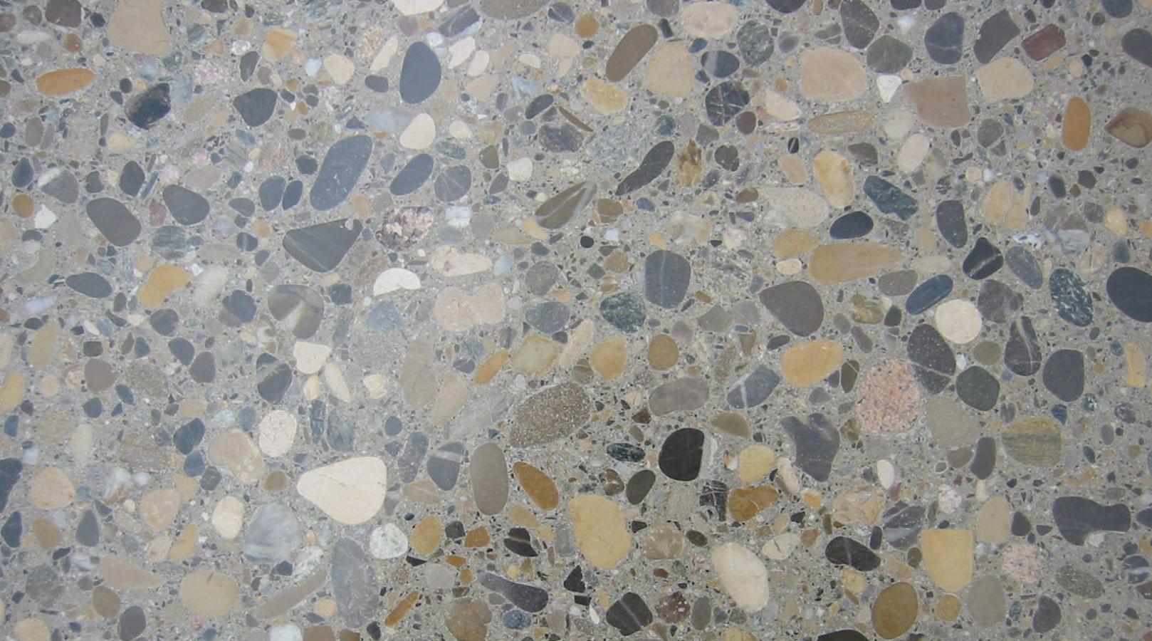 Beton Terrazzo Vloeren Vloer Polijsten Schuren Impregneren