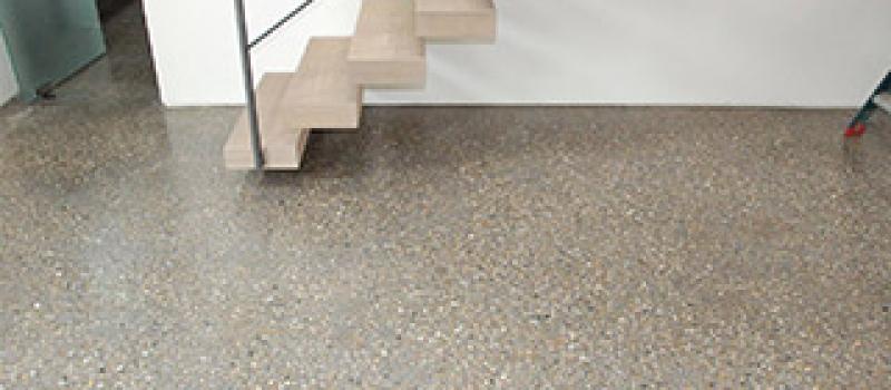 Woonbeton, Design beton, terrazzo beton