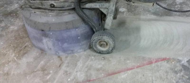 Fabulous Lijmresten verwijderen van betonvloeren en andere oppervlakken FP79