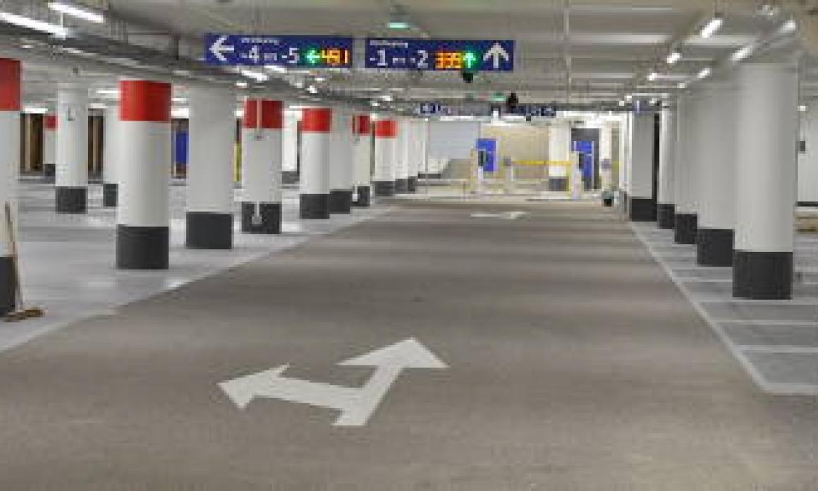 Parkeergarage Vredenburg P5 open!!
