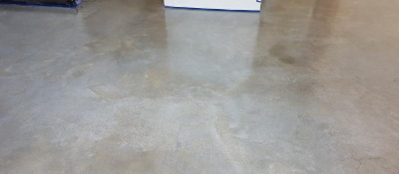 Woonbeton, woonbetonvloer, gepolijste betonvloer