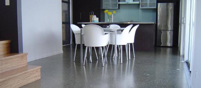 Beton polijsten, Terrazzo schuren en polijsten, woonbeton, beton in woning