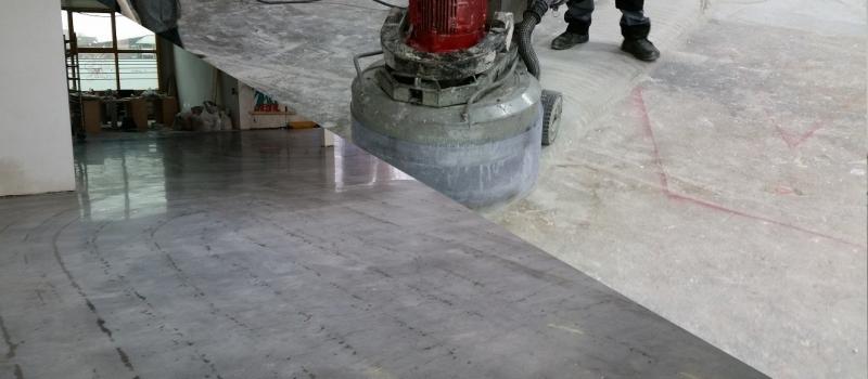 Beton reinigen, beton schoonschuren, betonvloer reinigen, betonvloer schoonschuren, beton reinigen en polijsten, beton schoonschuren en polijsten