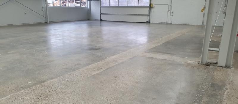 Gerenoveerde betonvloer