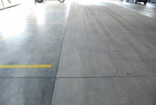 Beton straalbaan vrij stralen