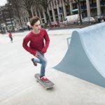 Asfalt schuren Skatebaan Westblaak Rotterdam